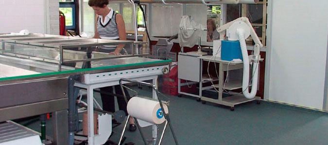 Icat textielrestauratie - Een wasruimte voorzien ...